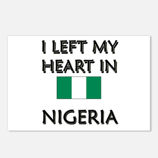 I Left My Heart In Nigeria Postcards (Package of 8
