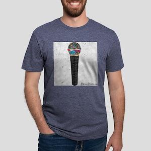 Graffiti - Mic Color Mens Tri-blend T-Shirt