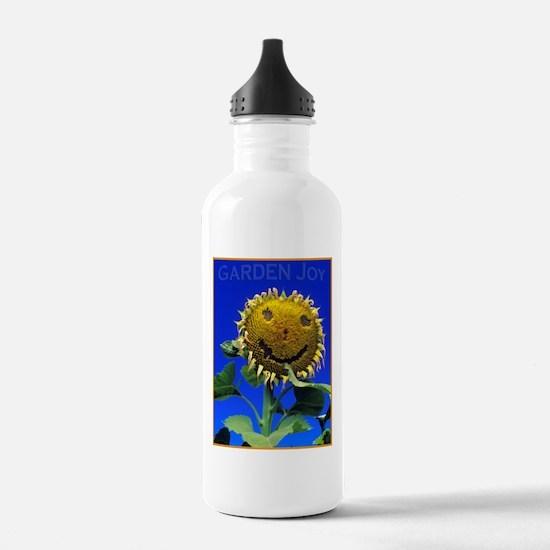 Garden Joy Sunflower Water Bottle