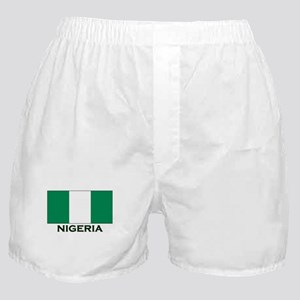 Nigeria Flag Gear Boxer Shorts