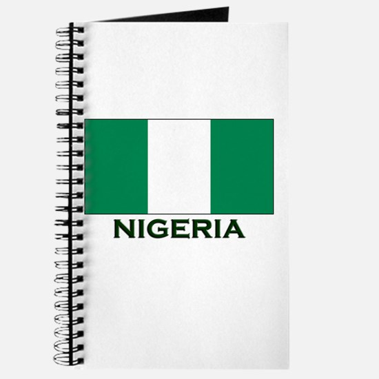Nigeria Flag Gear Journal