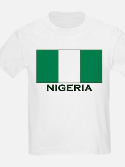 Nigeria Flag Gear Kids T-Shirt