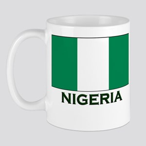 Nigeria Flag Gear Mug