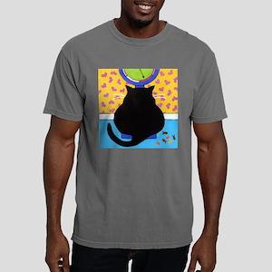 3-FATBlackCATScale2 Mens Comfort Colors Shirt