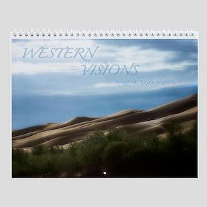 Western Visions Wall Calendar