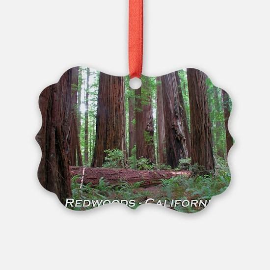 Cute Redwood national park Ornament