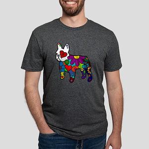 Frenchie Power Mens Tri-blend T-Shirt