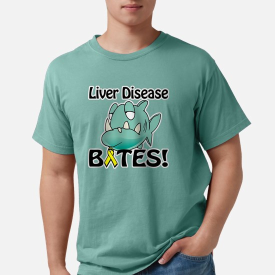 Liver Disease BITES.png Mens Comfort Colors Shirt