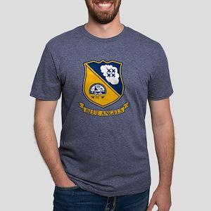 blueaglogo Mens Tri-blend T-Shirt