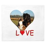 Love Hearts King Duvet