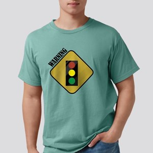Warning Mens Comfort Colors Shirt