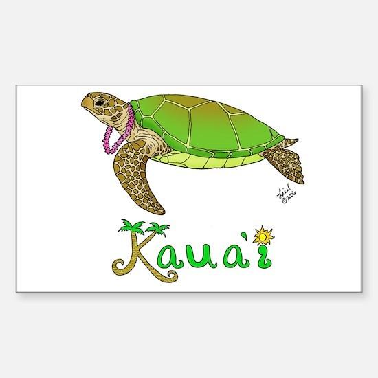 Kauai Rectangle Decal