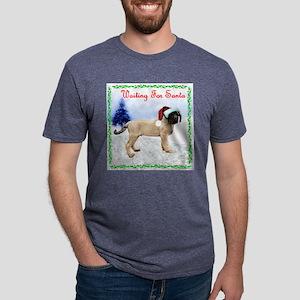 WaitingforSanta Mens Tri-blend T-Shirt