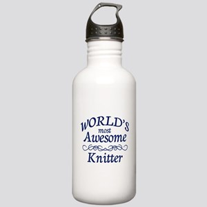 Awesome Knitter Stainless Water Bottle 1.0L