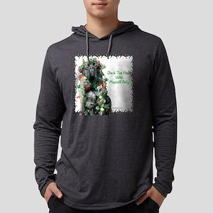MastiffFollydark Mens Hooded Shirt