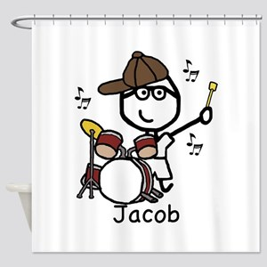 Drumset - Jacob Shower Curtain