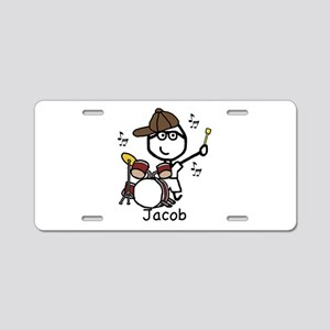 Drumset - Jacob Aluminum License Plate