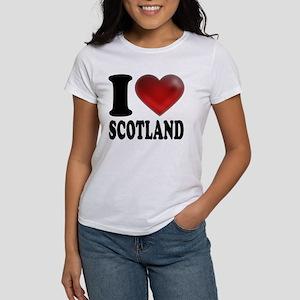 I Heart Scotland Women's T-Shirt