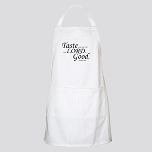 """Taste and See"" BBQ Apron"