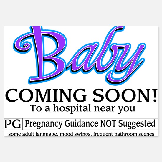 Baby - Coming Soon! Invitations