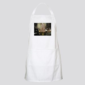 Christmas Time in the City Apron