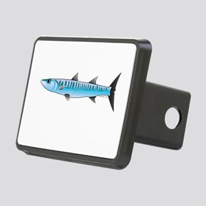 Pacific Barracuda fish Rectangular Hitch Cover