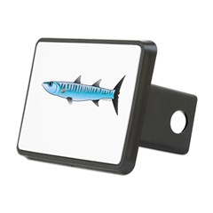 Pacific Barracuda fish Hitch Cover