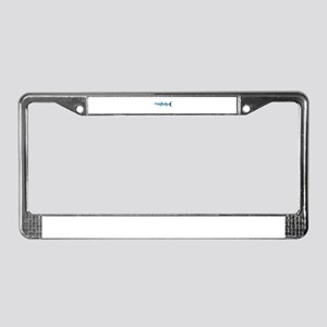 Pacific Barracuda fish License Plate Frame