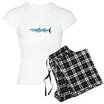 Pacific Barracuda fish Women's Light Pajamas
