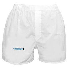 Pacific Barracuda fish Boxer Shorts