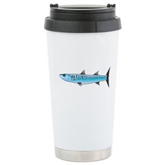 Pacific Barracuda fish Stainless Steel Travel Mug