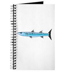 Pacific Barracuda fish Journal