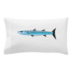 Pacific Barracuda fish Pillow Case