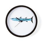 Pacific Barracuda fish Wall Clock