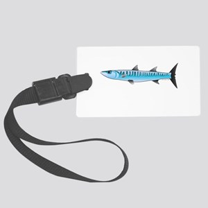 Pacific Barracuda fish Large Luggage Tag