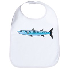Pacific Barracuda fish Bib