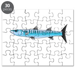 Pacific Barracuda fish Puzzle