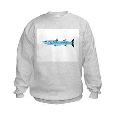 Pacific Barracuda fish Sweatshirt
