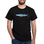 Pacific Barracuda fish Dark T-Shirt