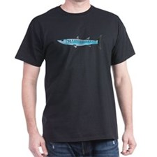Pacific Barracuda fish Dark T-Shirt