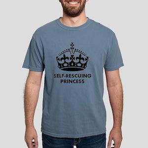 Self-Rescuing Princess Mens Comfort Colors Shirt