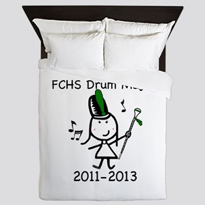 Drum Major - FCHS Queen Duvet