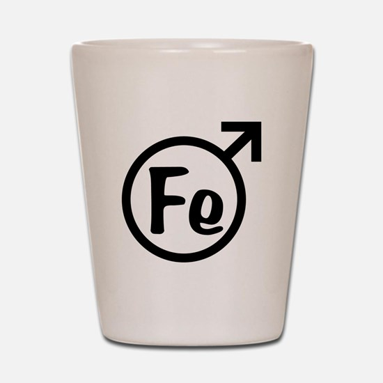 Fe Man Shot Glass