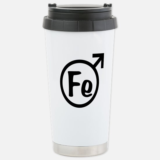 Fe Man Stainless Steel Travel Mug