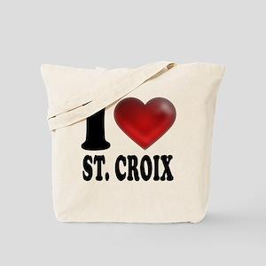 I Heart St. Croix Tote Bag