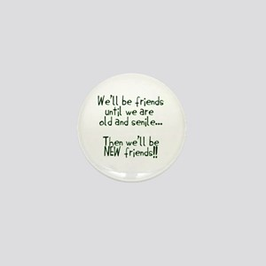 Well be friends png Mini Button
