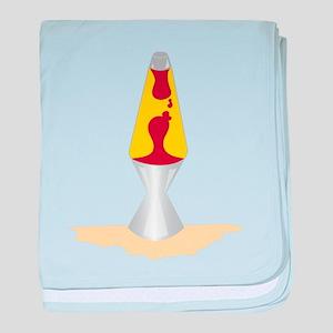 Lava Lamp baby blanket