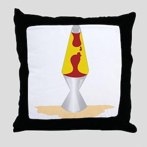 Lava Lamp Throw Pillow