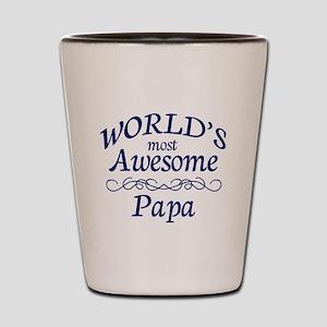 Awesome Papa Shot Glass