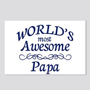 Awesome Papa Postcards (Package of 8)